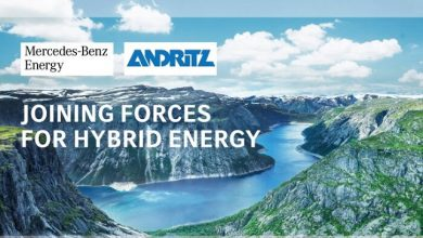 Photo of Mercedes-Benz Energy and ANDRITZ sign cooperation agreement to supply stationary energy storage systems for hydropower plants