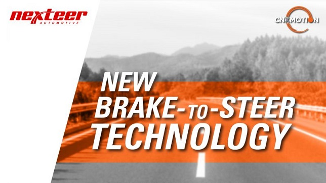 Nexteer and Continental joint venture CNXMotion develops Brake-to-Steer technology