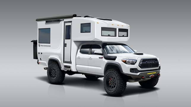 TruckHouse™ unveils Toyota Tacoma TRD Pro composite expedition vehicle