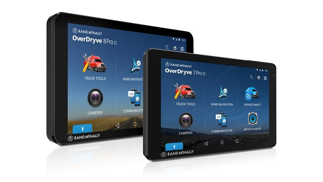 Rand McNally releases new OverDryve™ Pro II with 7-Inch Screen