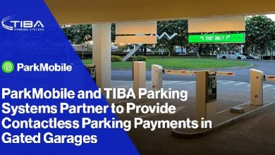 ParkMobile and TIBA Parking Systems partner to provide contactless parking payments in gated garages