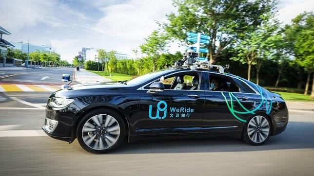 Autonomous vehicle startup WeRide raises $320 million
