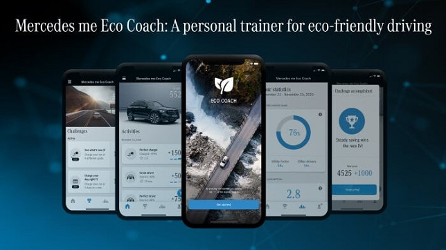Mercedes me Eco Coach: a personal trainer for eco-friendly driving