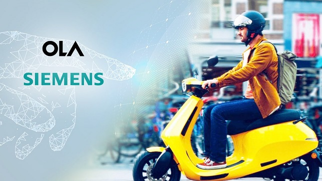 India: Ola partners with Siemens for electric vehicles manufacturing facility