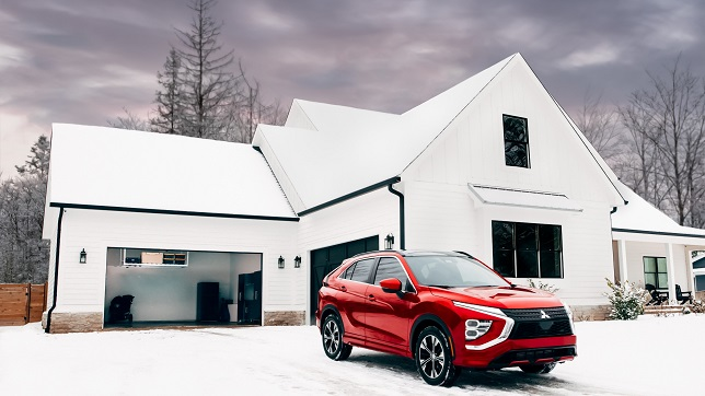 Mitsubishi Motors is redefining in-vehicle Garage Control with myQ Connected Garage