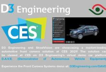 Photo of StradVision and D3 Engineering collaborate on Automotive Front Camera solution