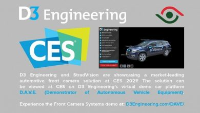 StradVision and D3 Engineering collaboration on Automotive Front Camera Solution