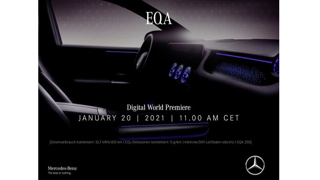 The new EQA: Get on board with electromobility