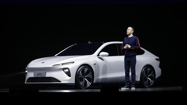 NIO launches autonomous driving model ET7