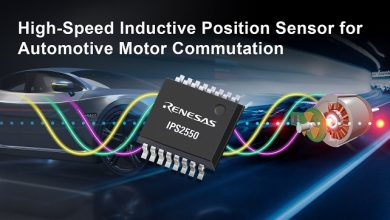 Renesas expands inductive position sensing portfolio to automotive motor commutation with IPS2550 sensor