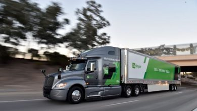 Photo of Goodyear ventures invests in autonomous trucking company TuSimple