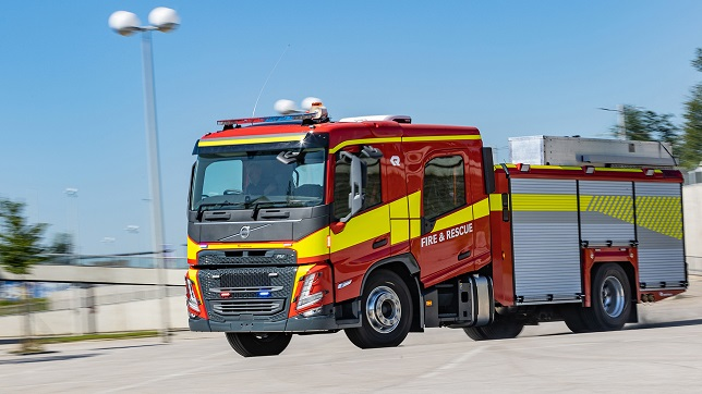 Launch of the new Volvo FM and FMX with crew cab for emergency vehicles