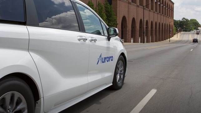 Toyota, Denso team with Aurora on self-driving cars for Uber