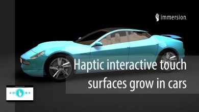 Faurecia and Immersion partner for haptic automotive technologies