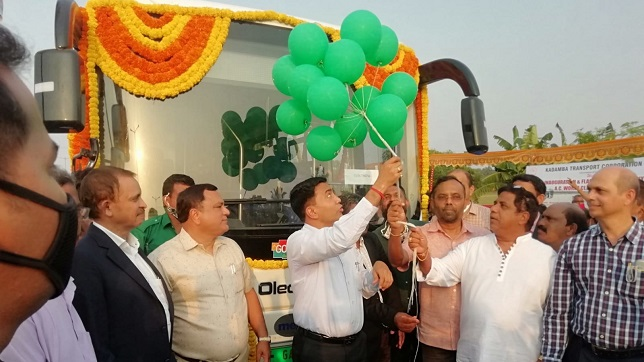 India: Goa introduces Olectra electric buses in its fleet