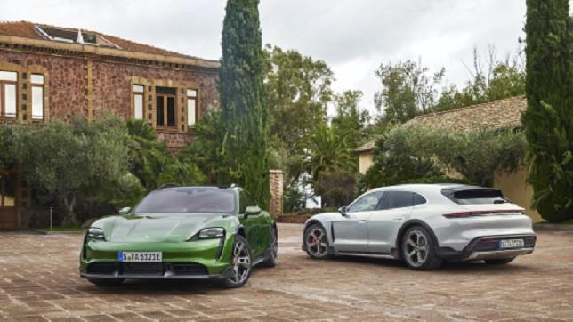 Porsche presents Taycan Cross Turismo EV