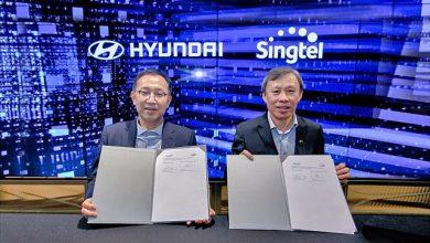 Hyundai Motor Company and Singtel MOU