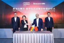 Audi, Tencent partner on in-vehicle digital services