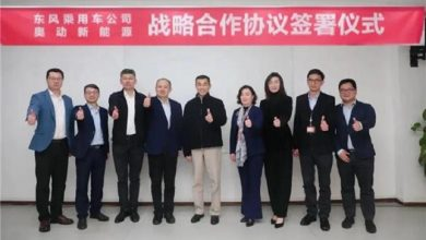 Dongfeng Motor partners with Aulton for battery swapping business
