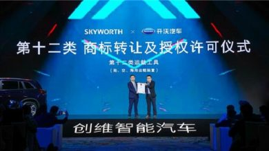 Skywell launches new smart EV brand Skyworth Auto