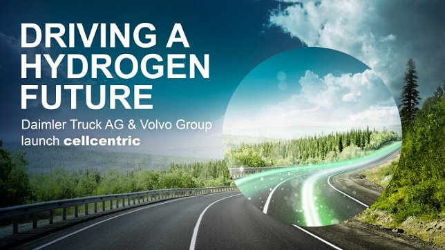 Daimler Truck AG and Volvo Group launch new joint venture cellcentric