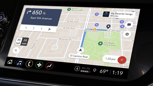General Motors launches Maps+, An in-vehicle app-based navigation system