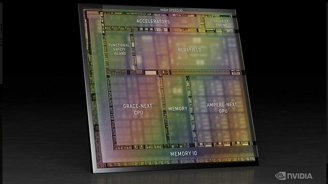 Nvidia introduces Drive Atlan, a system-on-chip platform for autonomous vehicles