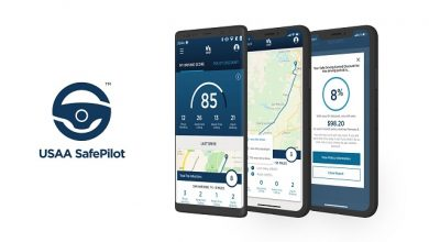 USAA announcing the expansion of telematics app SafePilot in 10 states