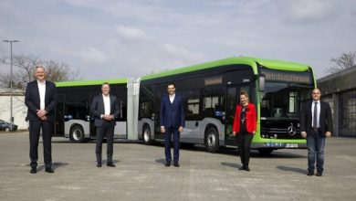 Premiere for the eCitaro G bus with new lithium-ion batteries