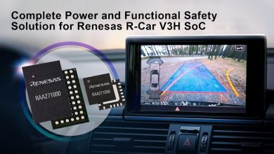 Renesas introduces complete power and functional safety solution for R-Car V3H ADAS camera systems