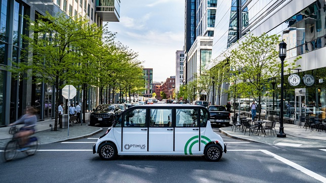 Optimus Ride partners with Polaris to commercialize electric autonomous vehicles