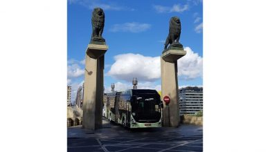 Volvo tests electric buses in challenging climate conditions