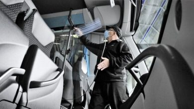 5000 buses equipped with active filters and protective driver doors