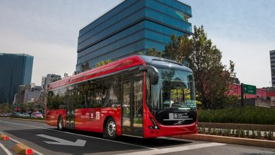 Volvo 7900 Electric bus being tested in Mexico City