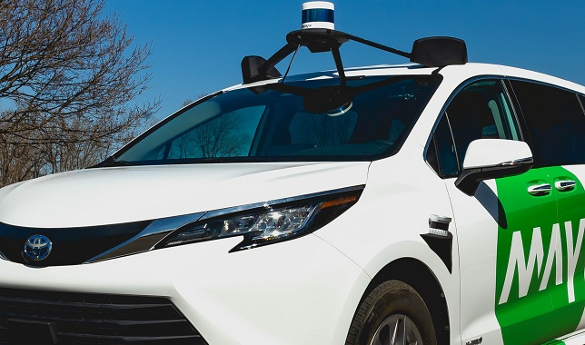 May Mobility launches public road testing of natively automated vehicle based on the Sienna