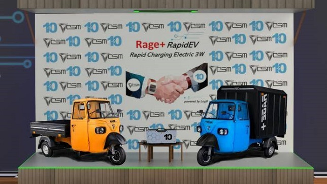 India: Omega Seiki joins with Log 9 Materials for rapid charging battery tech in 3-wheelers