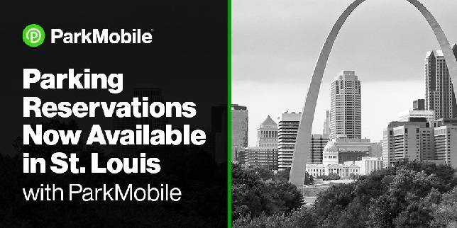 City of St. Louis partners with ParkMobile to offer event parking reservations around several venues