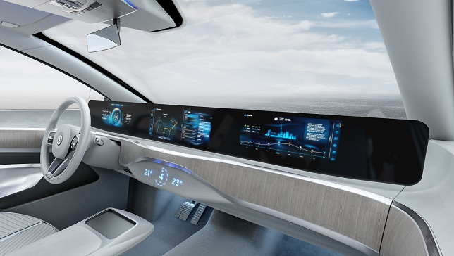 Digital Driving Experience: Continental receives order for display solution across entire cockpit width