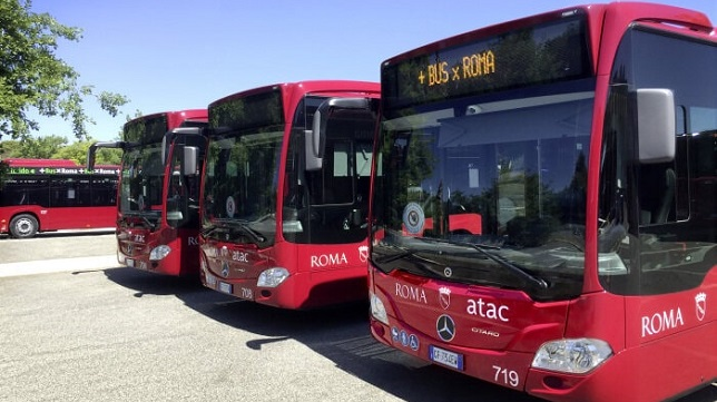 Mercedes-Benz delivers Citaro hybrid buses to the transport company Atac
