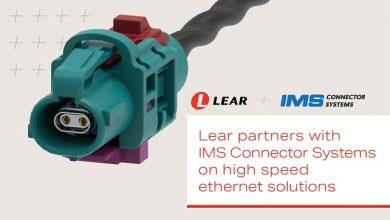 Lear, IMS Connector Systems partner on high speed ethernet solutions