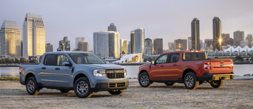 Ford unveils Maverick compact hybrid pickup truck starting at less than $20K