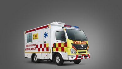 VE Commercial Vehicles launches Eicher Skyline Ambulance