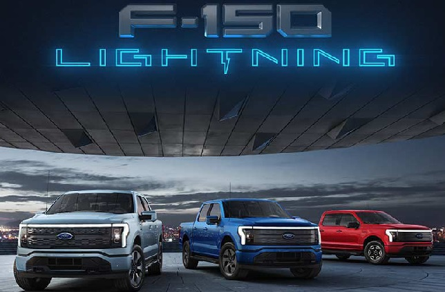 Earnhardt Rodeo Ford introduces the 2022 Ford F150 Lightning Pro