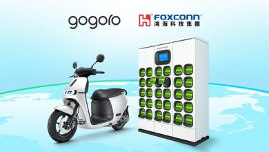 Foxconn and Gogoro announce strategic partnership to accelerate the expansion of Gogoro's battery swapping system and Smartscooters