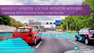 Maxim Integrated's Essential Analog supervisor delivers automotive window voltage monitor with built-in self-test for ADAS