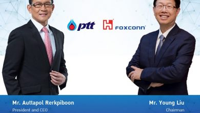 PTT and Foxconn announce together venture on the electric vehicle production platform
