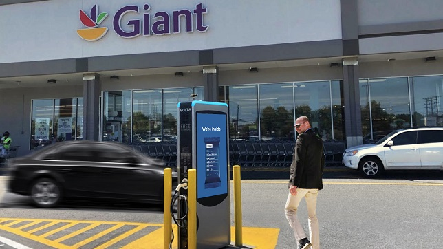 Volta charging reaches 100 charging stations in Maryland