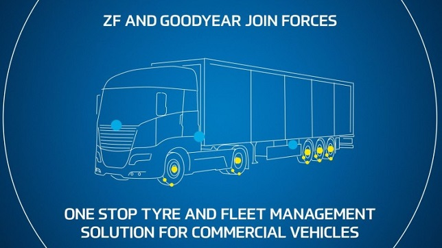 ZF joins forces with Goodyear to offer enhanced tyre and fleet management solutions