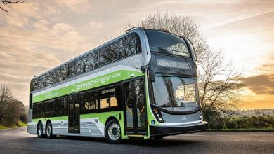 Alexander Dennis unveils its first zero-emission, three-axle double deck bus, the Enviro500EV CHARGE for North America