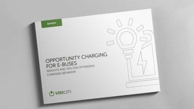 ViriCiti industry report finds that fast chargers are underutilized in 24% of opportunity charging sessions